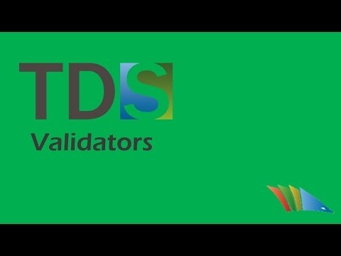 TDS Validators look for problems in a project and alert you at build time