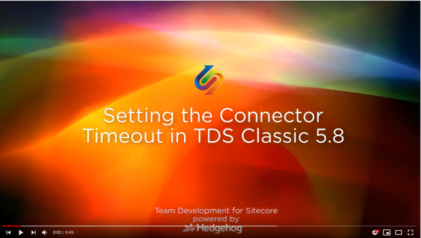 connector timeout