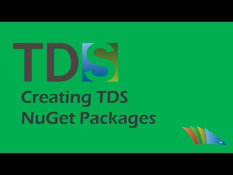 Add the TDS build components using a NuGet package allowing for easily building TDS projects on cloud build servers